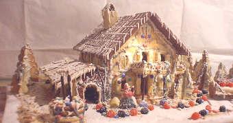 Casetta Di Natale Da Colorare : Le ricette di natale della cucina casertana la casetta della befana